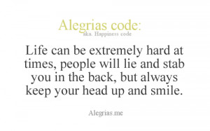 be extremely hard at times, people will lie and stab you in the back ...