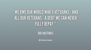 Society War Veterans Quotes...
