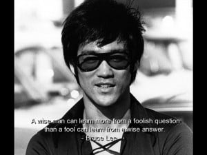 brainy quotes love Bruce Lee Quotes Sayings Quote Wise Wisdom Brainy ...