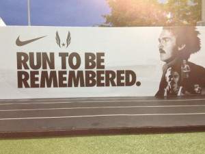 One of the many inspirational Nike