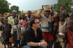 Bono's quote on one of the defining moments of his life: