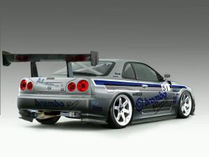 Nissan Skyline Drift Andrerohr