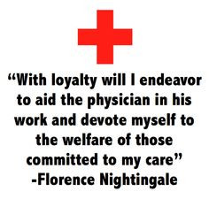 one line from Florence Nightingale's Nursing pledge More