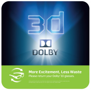 Dolby 3d Logo Dolby 3d static clings