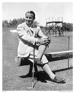 ... gene achieve the masters as a chions story gene sarazen from sand