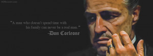 Don Corleone God Father quotes facebook cover photo is customized and ...