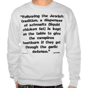JEWISH HUMOR - FUNNY - SWEATSHIRT COMEDY - GIFTS