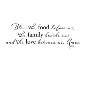 ... before bed and before we eat love this sweet simple prayer for before