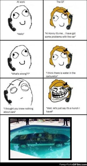 car problem meme