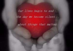 About things that matter quote