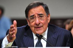 CIA Director Leon Panetta testifies during his Secretary of Defense ...