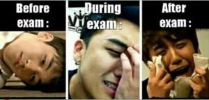 big bang, exam, funny, kpop, kpop worldwide
