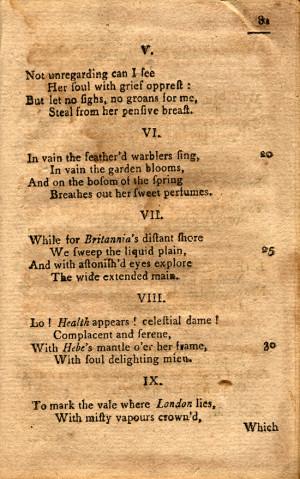 Poem Phillis Wheatley Quot...