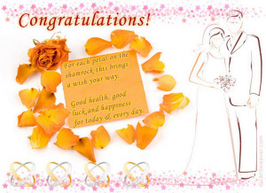 Wedding Wish - Wishes For Newly Married Couple