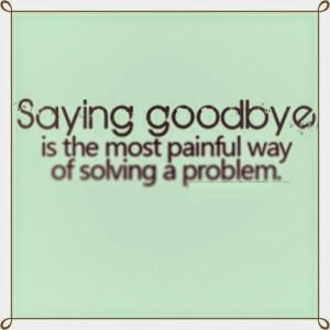 Gallery Sad Goodbye Quotes...