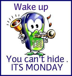 Good Monday morning every body! More