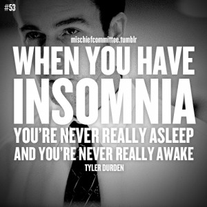 insomnia quote fight club