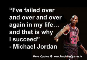 Inspirational Quotes on Success and Failure Michael Jordan Images ...