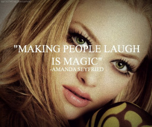 ... seyfried quotes celebrity quotes friends happiness quotes happy laugh