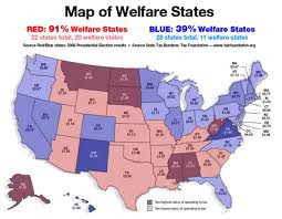91% of government WELFARE goes to the 'RED STATES'!