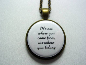 Adopted Foster Care Quote It's Not Where You Come From It's Where You ...