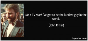 More John Ritter Quotes