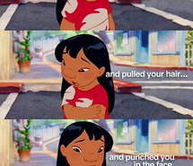 cute, disney, funny, inspiring, lilo and stitch, quotes, scenes