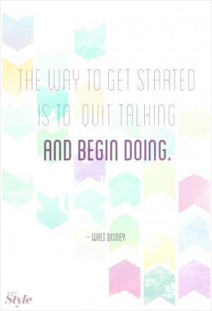 Creative Advice from Walt Disney Himself