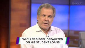 Lee Siegel responds to criticism about his choice to default on ...