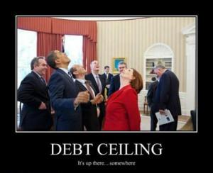 demotivational posters, finacial dept, president obama