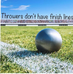 You can always throw further, there are no limits.