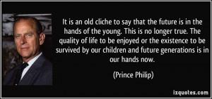 Home Quotes Prince Philip Quote Virus