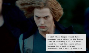 jasper hale quotes | book: new moon # book: eclipse # book: breaking ...