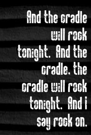 Rock Music Quotes Song lyrics, song