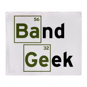 Band Gifts > Band Living Room > Funny Band Geek Throw Blanket