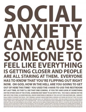 social anxiety disorder quotes tumblr