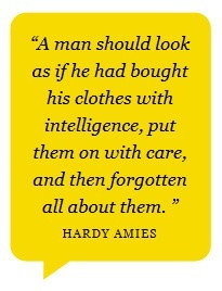 Menswear Style Fashion Advice Quote Like our FB Page https://www ...