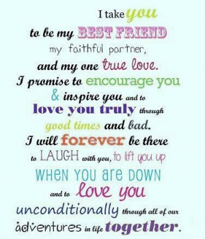 Love Quotes | Wedding Vows. Read about