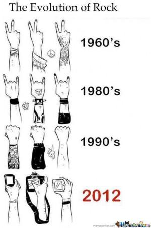 Evolution Of Rock