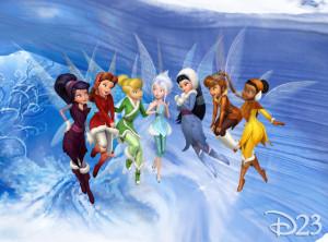 Friends: Vidia, Rosetta, Tink, Peri, Silvermist, Fawn, Iridesa Gliss ...
