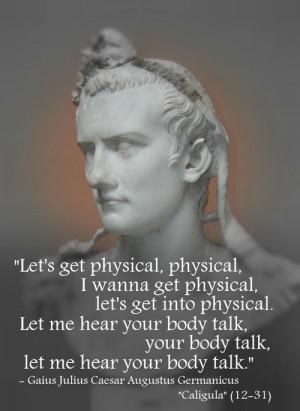 """Gaius Julius Caesar Augustus Germanicus """"Caligula"""" (12-31)[ who ..."""