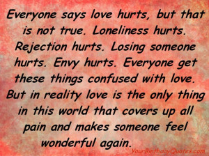 Quotes On Love Poems About Love For Him and Pain for Her That Rhyme ...