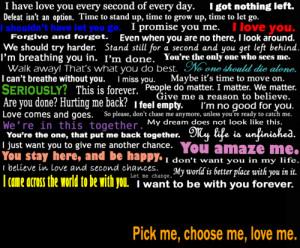 pick me, choose me, love me. by Dramenier