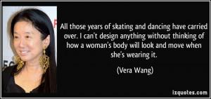 More Vera Wang Quotes
