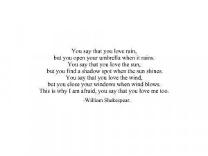 Shakespeare love deception quotes
