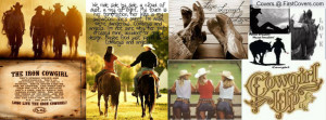 mix of cowgirl things and horses Profile Facebook Covers