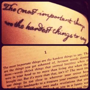 Stephen King - The Body, tattoo.