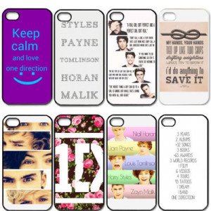 One-Direction-1D-Quotes-Protective-Cell-Phones-Cover-Case-for-Apple ...