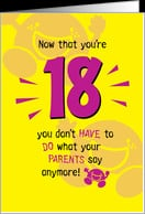 Happy 18th Birthday Funny Quotes. QuotesGram