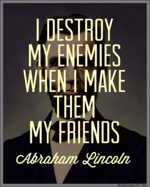 Make Up Your Mind....Love Your Enemies